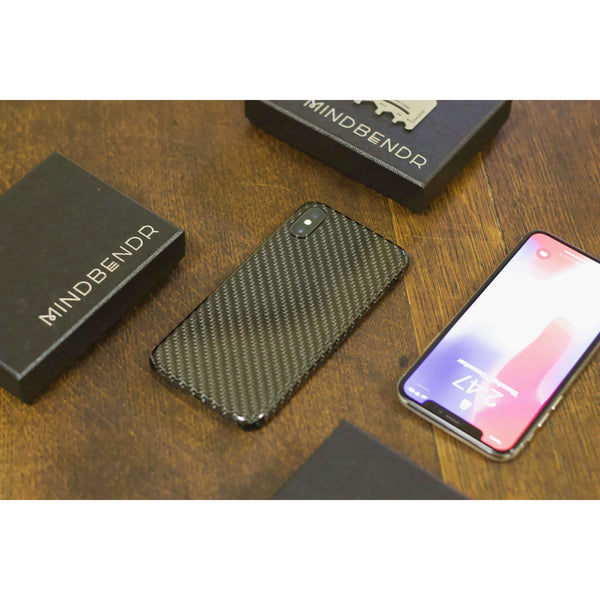 Carbon Fibre Slim Case | iPhone X - Mindbendr
