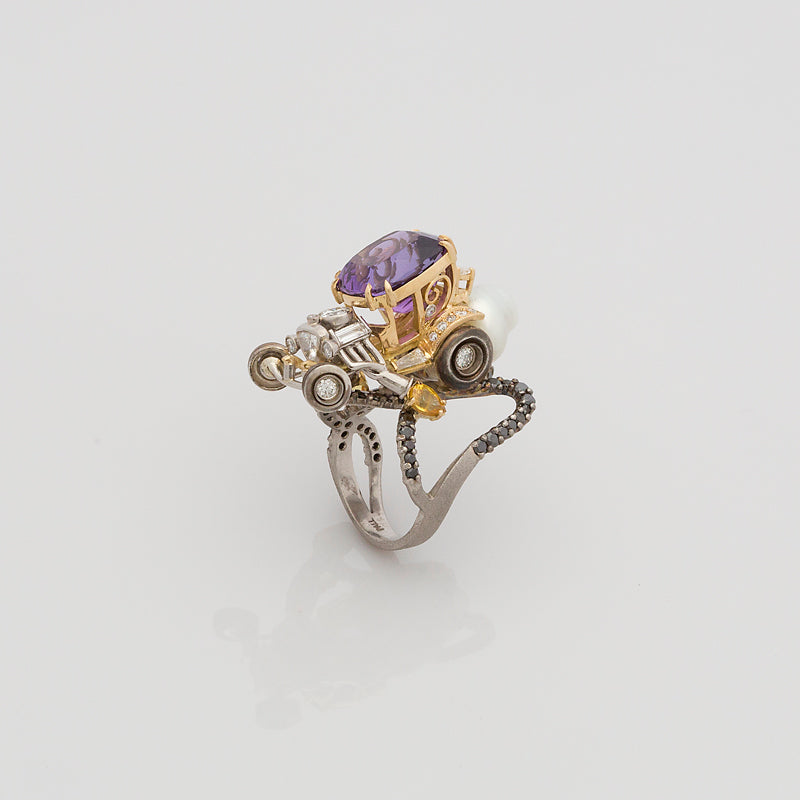 Coach Hot Rod Ring