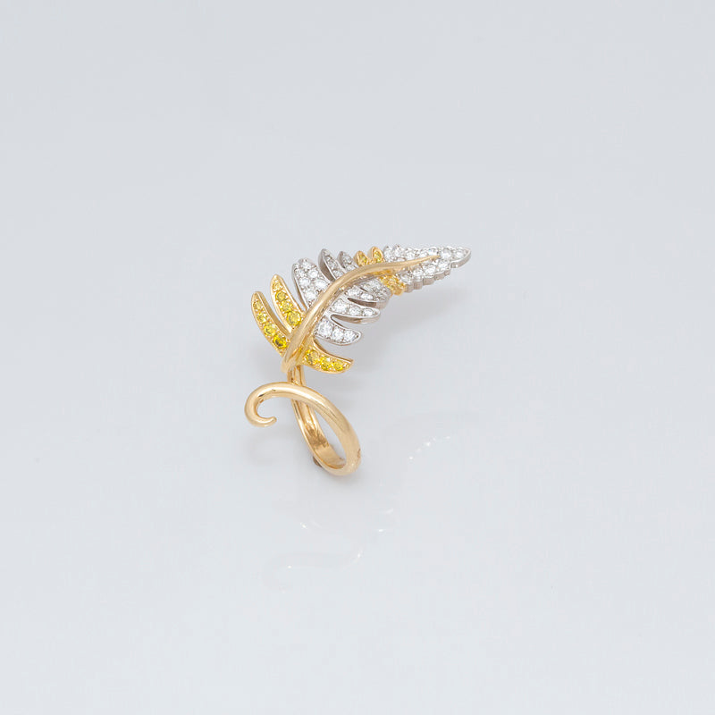 Fern Leaf Ring