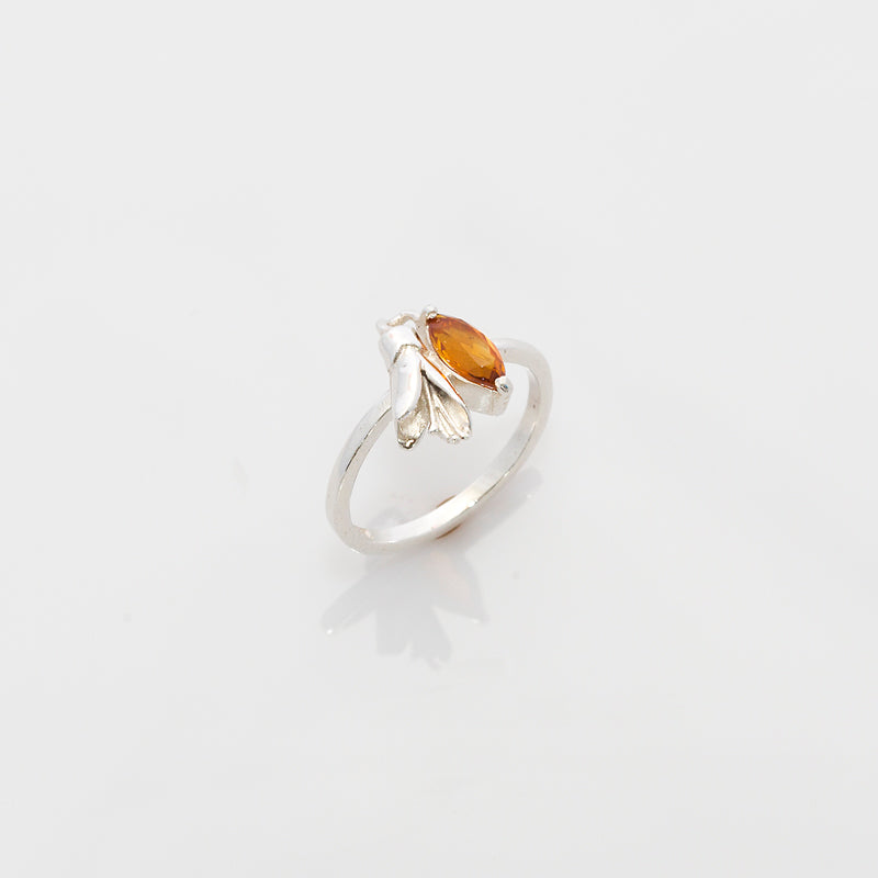 Single Kōwhai Flower Ring
