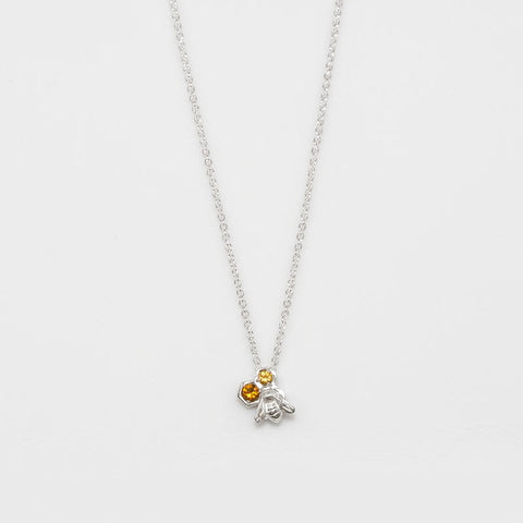 Small Honey Bee Pendant