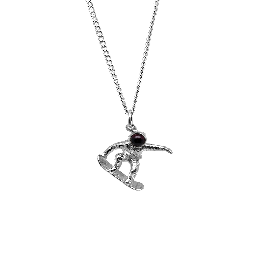 Load image into Gallery viewer, Skater Spaceman Pendant