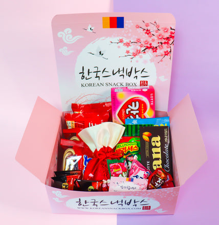 Buy a Korean Snack Box for your Bae or BFF on Valentine's Day 2020