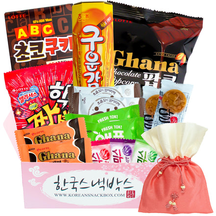 Christmas Korean Snack Box - December 2020