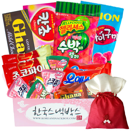 Valentine's Day Korean Snack Box - February
