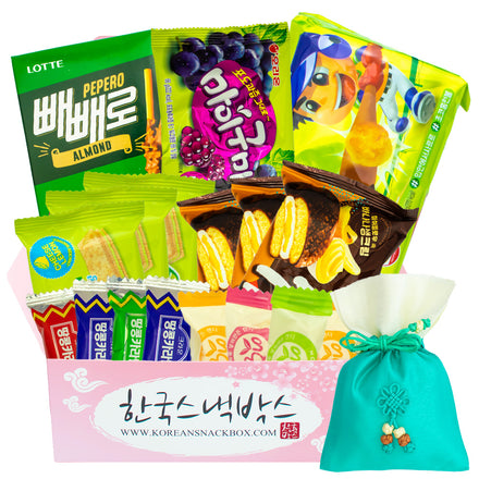 Green Forests Korean Snack Box - July