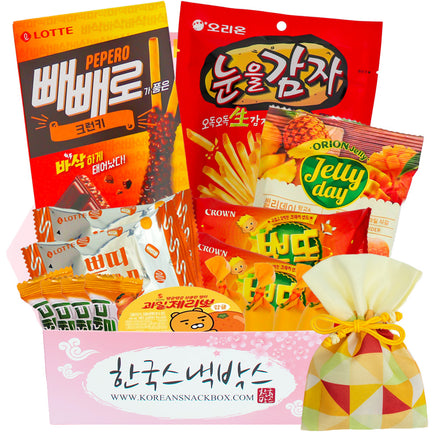Halloween Korean Snack Box - October 2020