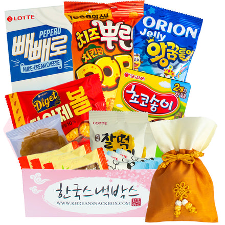 New Year Korean Snack Box - January 2021