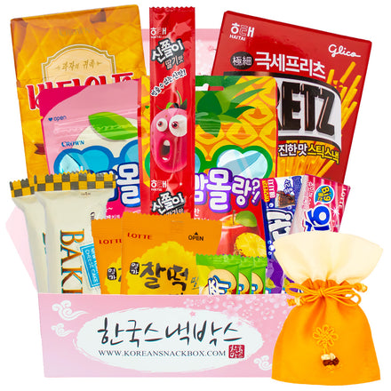 Rainy Movie Night Korean Snack Box - August