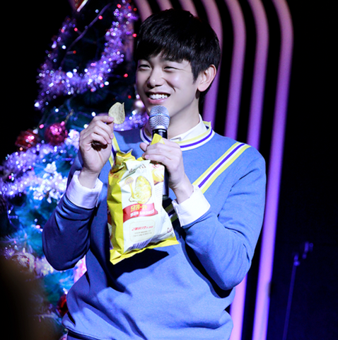 Eric Nam loves Honey Butter Chips