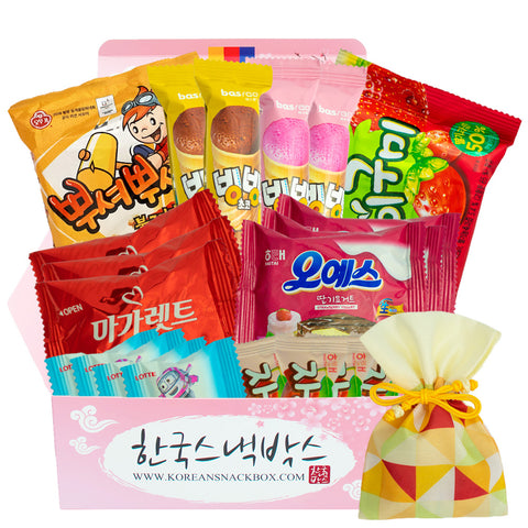 Beach and Pool - Korean Snack Monthly Subscription Box - K-snack box