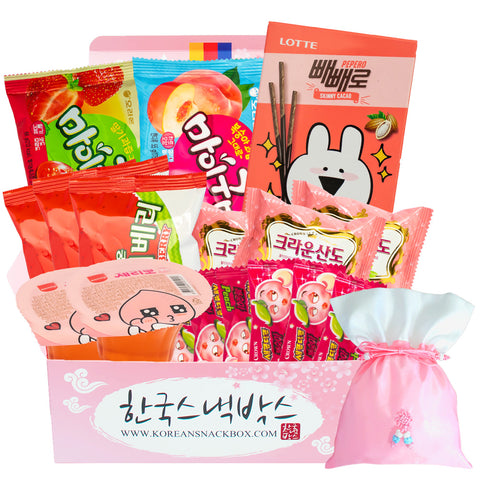 Cherry Blossom Box - Korean Snack Box - K-snack box