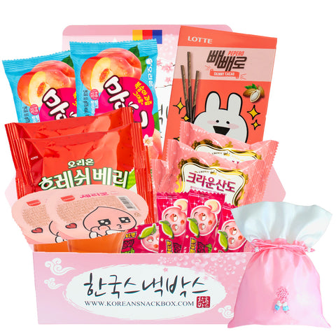 Cherry Blossom K-snack Korean snack box