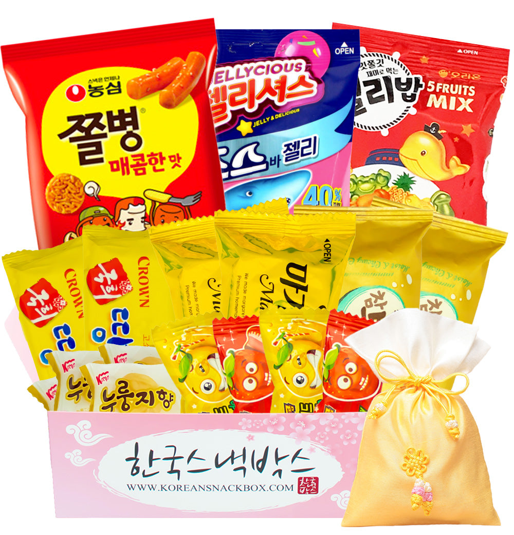 Large Korean Snack Box