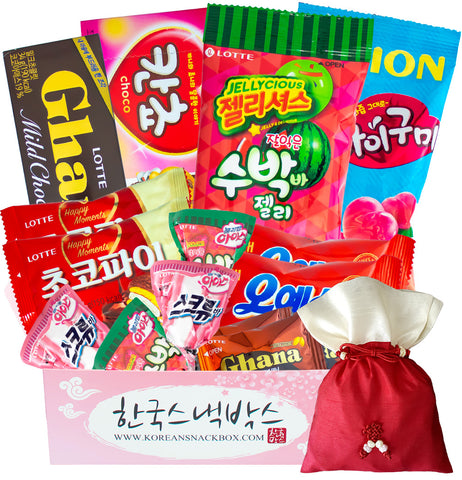 Valentine's Day February 2020 Korean Snack Box