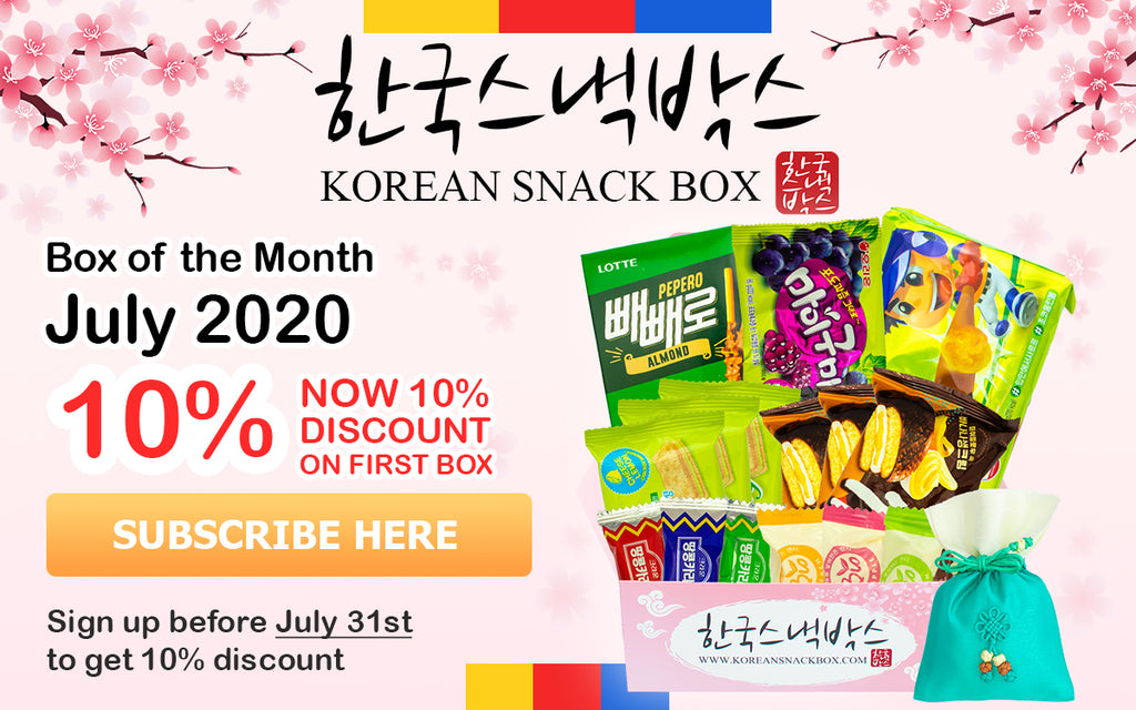 Korean Snack Box
