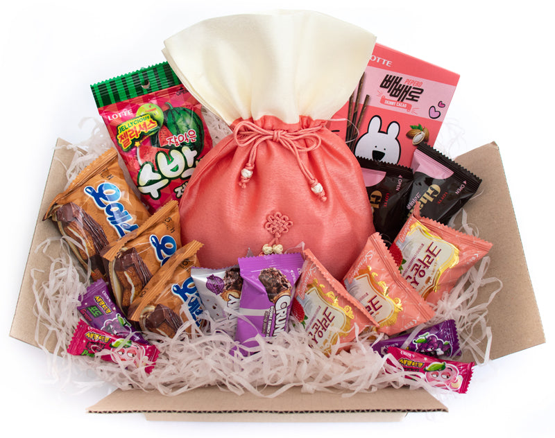 Large Korean Snacks and Candy Subscription Box