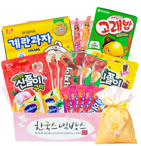 Lotus Lantern Festival - Korean Snack Box - K-snacks