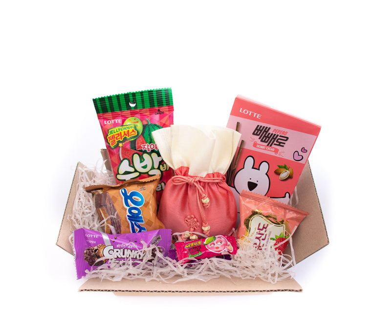 Medium Korean Snacks and Candy Subscription Box