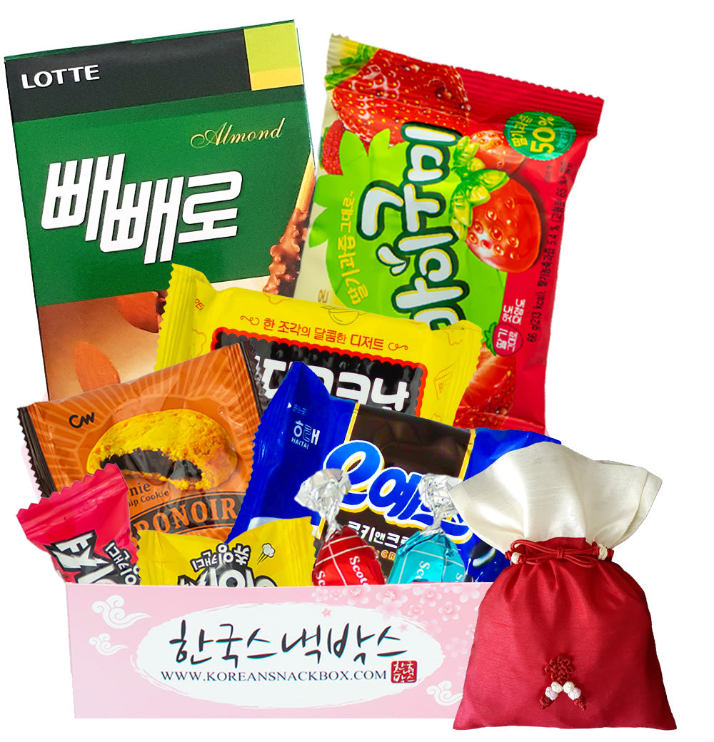 Medium Korean Snack Box