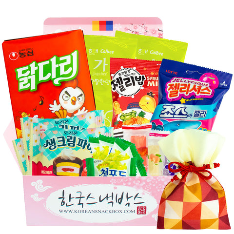 Korean Snack Box - Box of the Month  - May 2019 - Spring Picnic Box - K-snacks