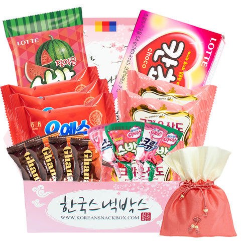 Win a free Valentine's K-snack Korean snack box