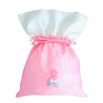 Bokjumeoni Silk Bag Pink