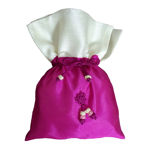 Bokjumeoni Silk Bag Purple