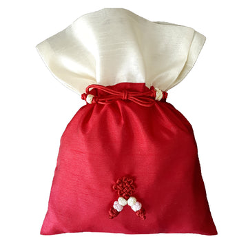 Bokjumeoni Silk Bag Red