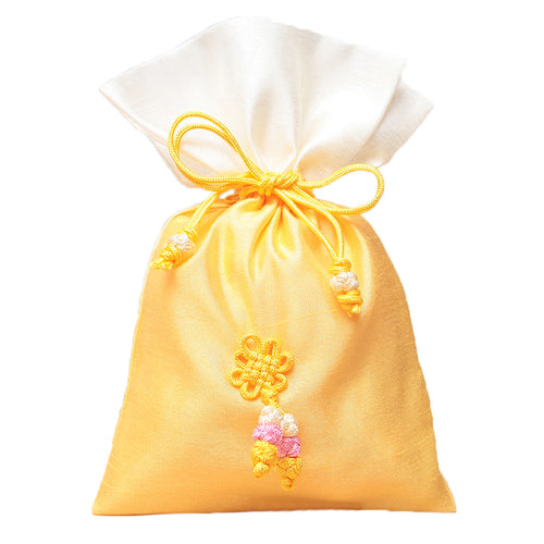 Bokjumeoni Silk Bag Yellow