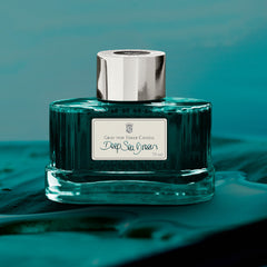 Graf von Faber-Castell, Tintenglas,   Deep Sea Green, 75ml