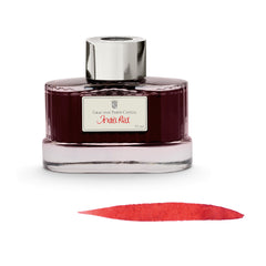 Graf von Faber-Castell, Tintenglas,   India Red, 75ml