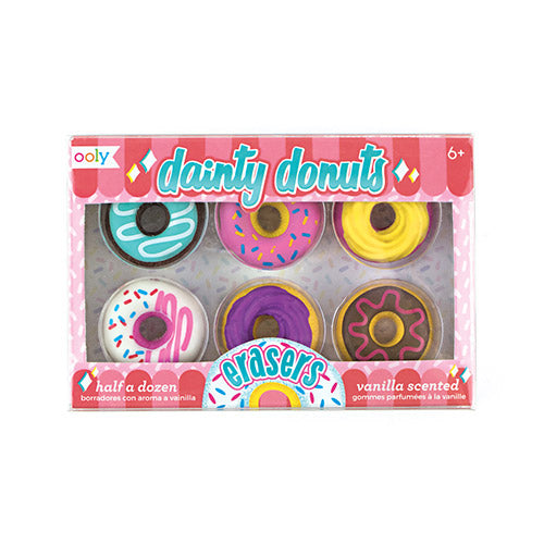 ooly dainty donuts pencil erasers