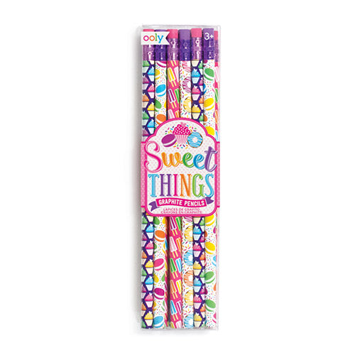 ooly sweet things graphite pencils - set of 12