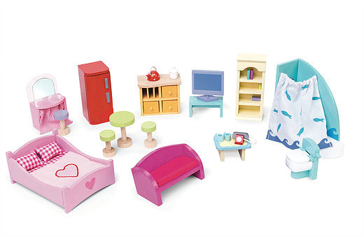LTV Deluxe Starter Furniture Set (27 Pieces)