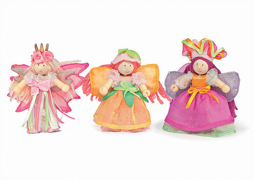 LTV Garden Fairies Triple Pack