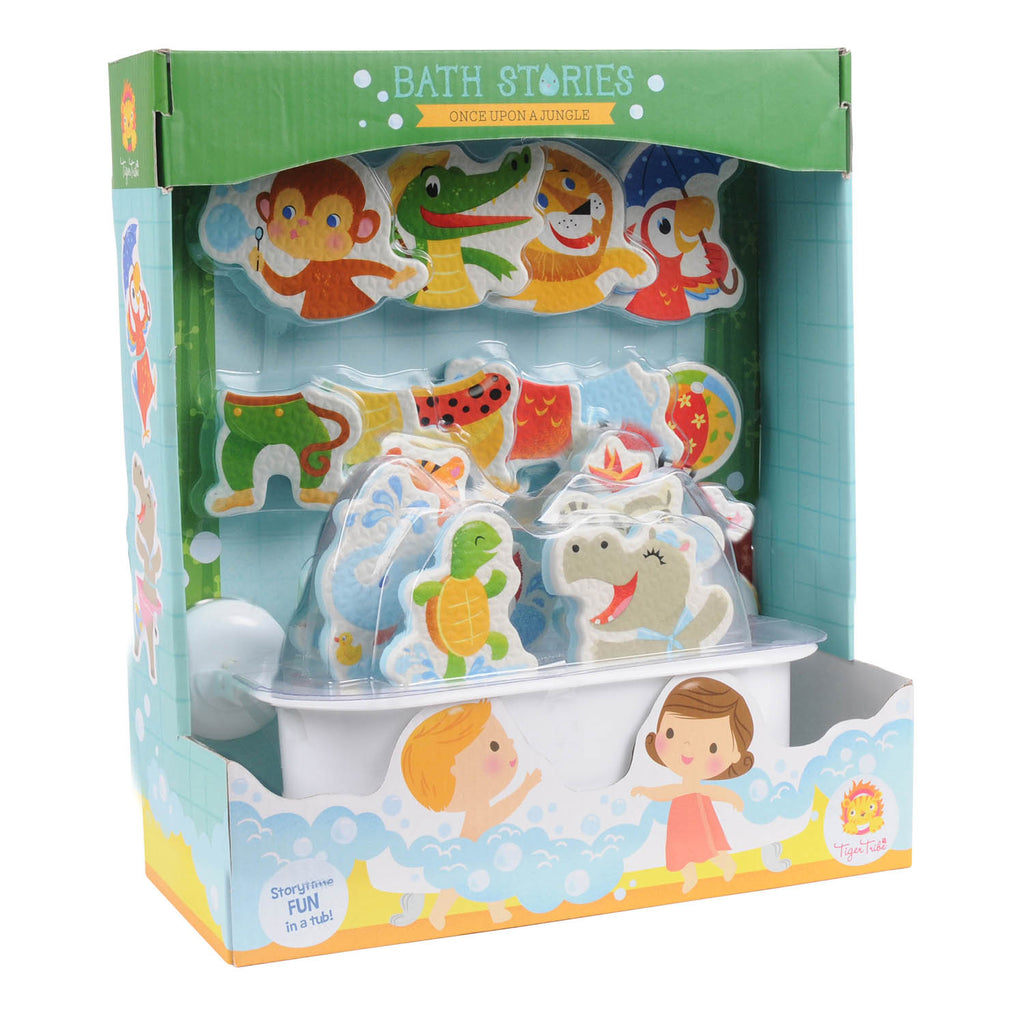 Tiger Tribe Bath Stories ONCE UPON A JUNGLE