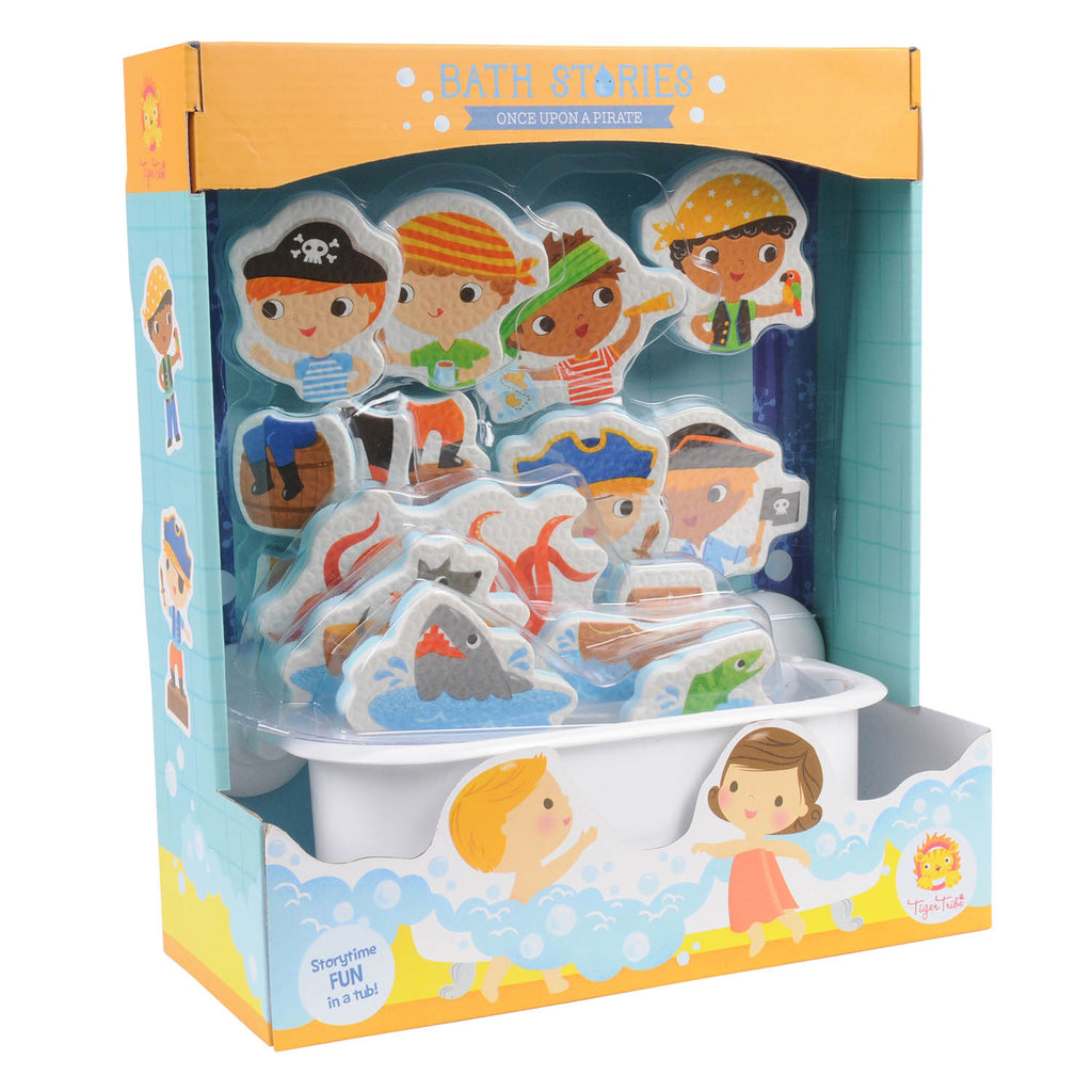 Tiger Tribe Bath Stories ONCE UPON A PIRATE