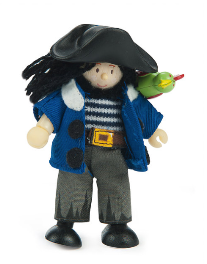 LTV Jolly Pirate with Parrot (Budkin)