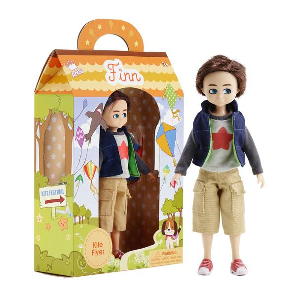 Kite Flyer Finn Doll
