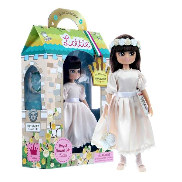 Royal Addition Flower Girl Lottie Doll