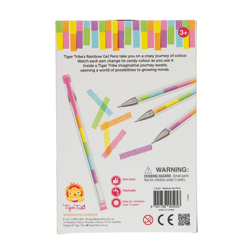 Tiger Tribe Rainbow Gel Pens