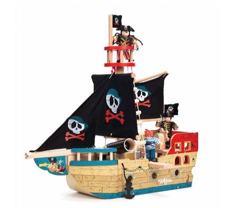 LTV Jolly Pirate Ship