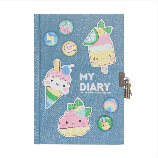 Tiger Tribe SWEET SECRETS Lockable Diary