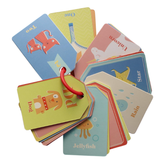 Tiger Tribe Flash Cards ABC 123