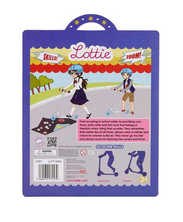 Scooter Lottie Outfit & Accessories
