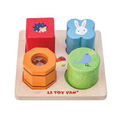 Petilou Four Piece Sensory Tray Set LTV