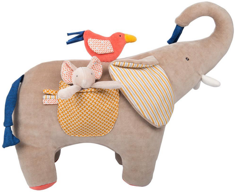 Les Papoum Activity Elephant Moulin Roty