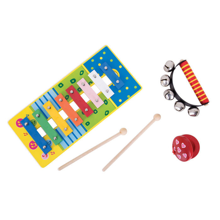 BigJigs Wooden Music Set