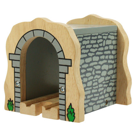 BigJigs Rail Grey Stone Tunnel